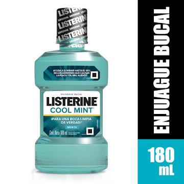 Enjuague Bucal Listerine   Cool Mint X180ML