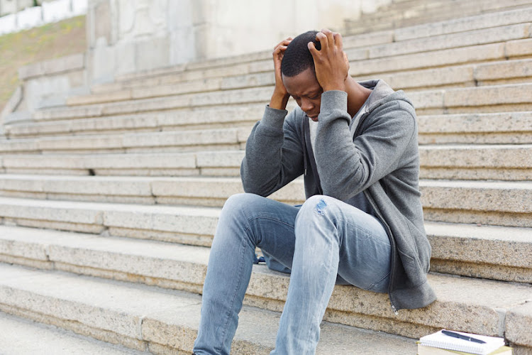 Sapien Labs' inaugural Mental State of the World 2020 report found that SA also has the highest financial distress due to Covid-19 followed by the UK. Stock photo.