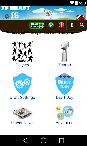 Fantasy Football 2015 Draft IS