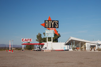Photo: An old cafe along historic Route 66.