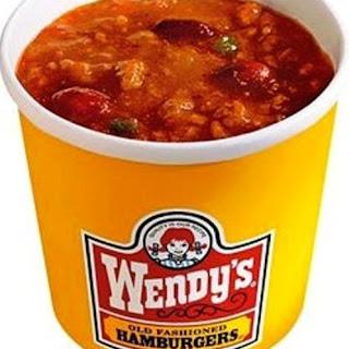 Pressure Cooker Copycat Wendy's Chili.