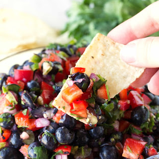 Blueberry & Red Bell Pepper Salsa Recipe