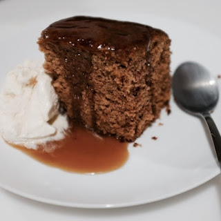 Beet Sticky Toffee Pudding