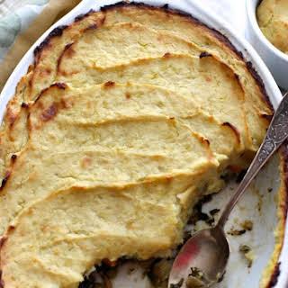 A Hearty (Meat-Free) Shepherd's Pie - gluten free, dairy free, soy free, vegan.