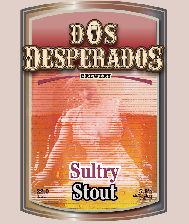 Logo of Dos Desperados Sultry Stout