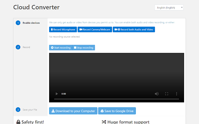 Video Recorder For Google Drive Google Workspace Marketplace