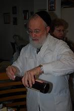 Photo: The Mohel - Rabbi Zimmerman