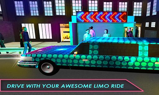 市ドライバー:リムジンシム3D