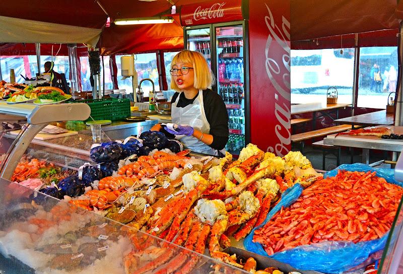 Mercato del pesce di Bergen  di stefano_angeli