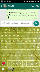 ♥ Keyboard for Whatsapp ☺ APK 4
