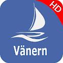 Vänern sjö - Sverige Offline GPS Nautisk Karta icon