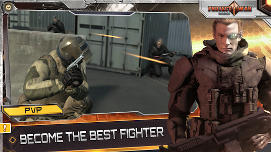 Project War Mobile – online shooting game Apk Download For Android and Iphone 6