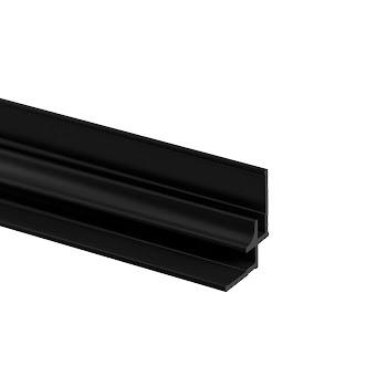 Profilé d'angle pour panneau mural DécoDesign, noir