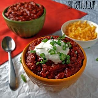 4 Ingredient Chili