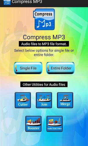 Compress MP3, merge, join, trim, volume booster 2.1.27 screenshots 1