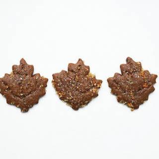 Molasses Spice Cookies with Orange Sugar.