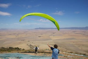 South Africa flying paragliding holidays for January 2015