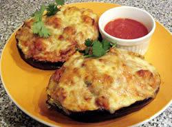 Meaty Stuffed Eggplant Recipe