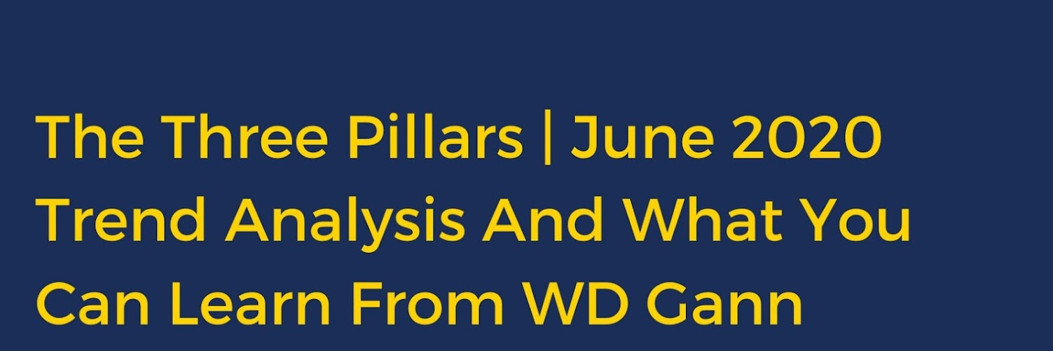The Three Pillars: Trend Analysis And What You Can Learn From WD Gann