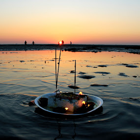 The Chhat Puja  by Som Nath - Landscapes Sunsets & Sunrises (  )