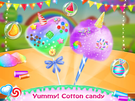 Cotton Candy & Sweet Maker Kitchen 1.2 screenshots 1