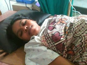 Photo: Shehina in the delivery room