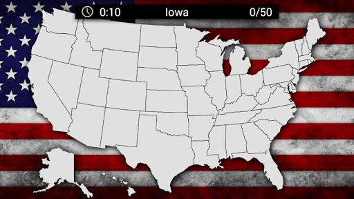 United States Quiz Screenshot