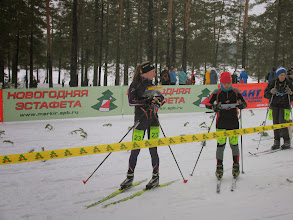 Photo: Оля Бородулина на старте 2 этапа
