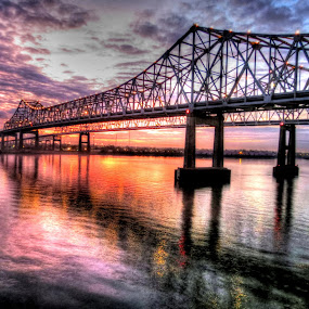 by Nancy Tharp - Buildings & Architecture Bridges & Suspended Structures