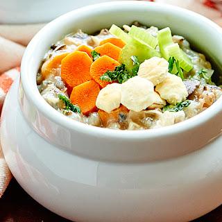 Crockpot Chicken Wild Rice Soup