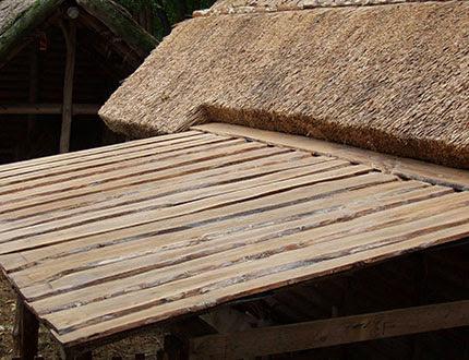 Drewniane elementy konstrukcji dachowej