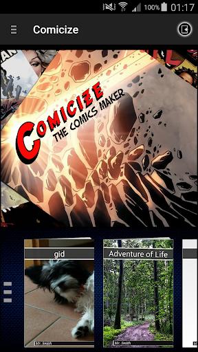 Comicize - the comics maker 2.52 screenshots 1