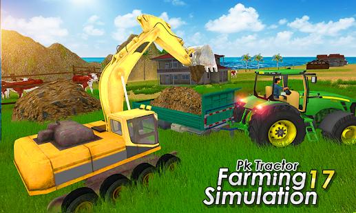 Heavy Tractor Excavator Simulator: Farm Simulation - náhled