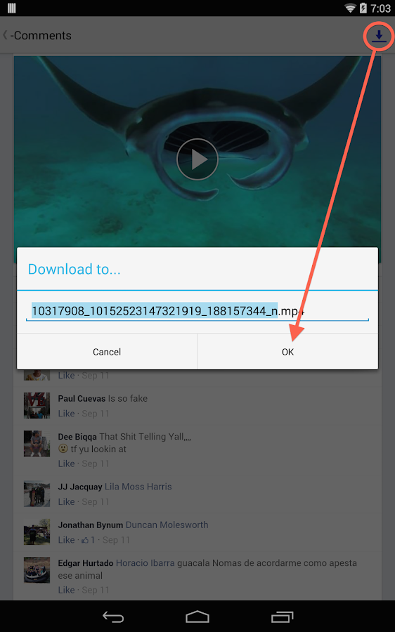 EZ Video Download for Facebook- screenshot