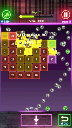 Bricks Breaker Melody android2mod screenshots 16