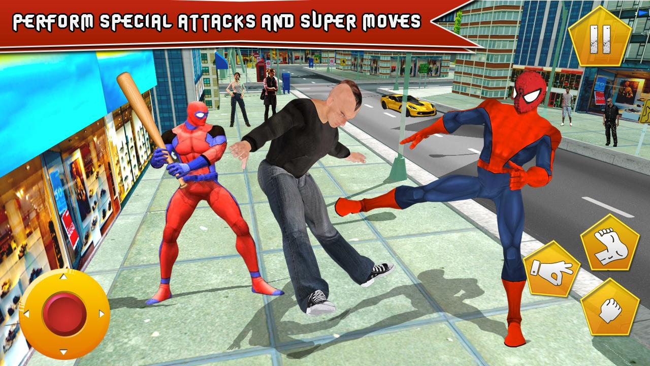 New Superhero Combat War- screenshot