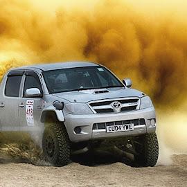 Ronie by Abdul Rehman - Sports & Fitness Motorsports ( rally, pakistan, thrill, natural light, adventure, desert, dangerous sport, dust, sunlight, dangerous, baluchistan, dusty,  )