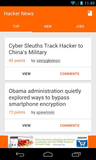 Hacker News Reader