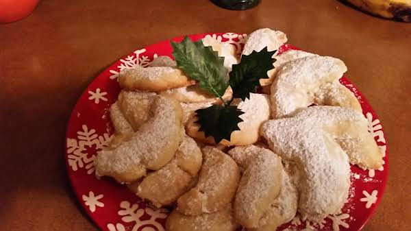 Mom's Almond Crescents