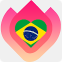 Brazil Chat & Dating Free icon
