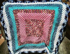 Photo: 071/366 - crocheted blanket, in progress
