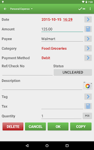 Expense Manager Pro Screenshot