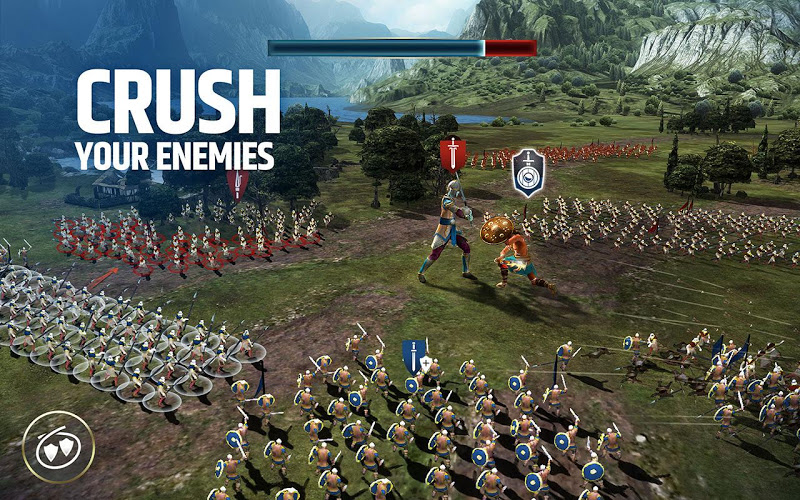 Dawn of Titans - Epic War Strategy Game Screenshot 3