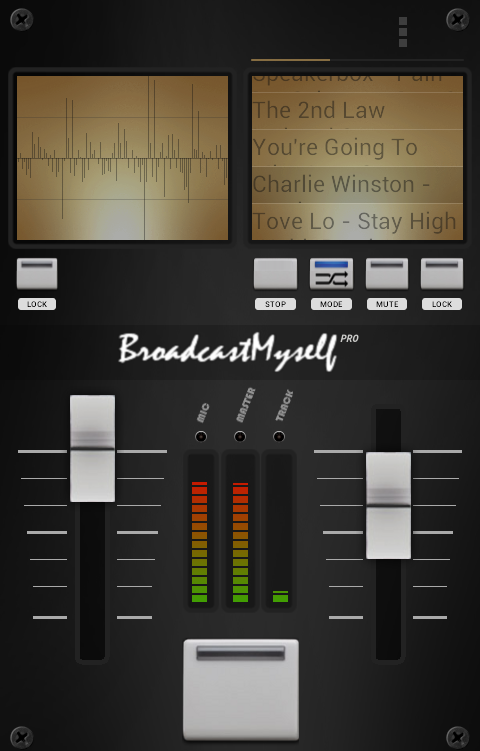 BroadcastMySelf- screenshot