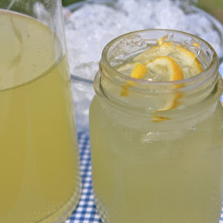 Easy Homemade Lemonade- My FAVORITE!.