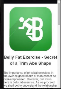 Exercises To Lose Belly Fat screenshot 3