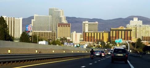 Photo: Heading on I-80 toward Reno, Nevada
