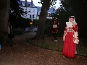 Photo: Valérie en Agnès Sorel aux 1001 lucioles