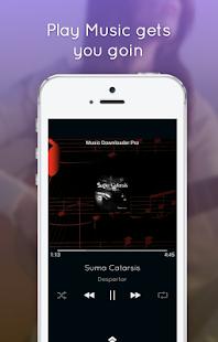 Music Downloader Pro - náhled