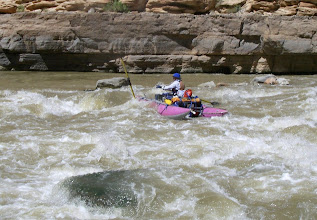 Photo: Oops, an oar catapults away... what, no leash?